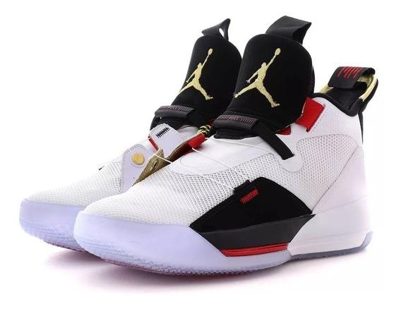 Zapatillas Nike Jordan Xxxiii 33. Talle 17 Us. Talle Grande.