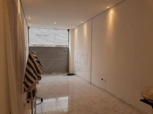 Imagem 1 de 19 de Salão Para Alugar, 100 M² Por R$ 3.500,00/mês - Santa Paula - São Caetano Do Sul/sp - Sl0769