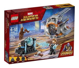 Lego Avengers Infinity War 76102 Thor Arma 223 Pcs Marvel