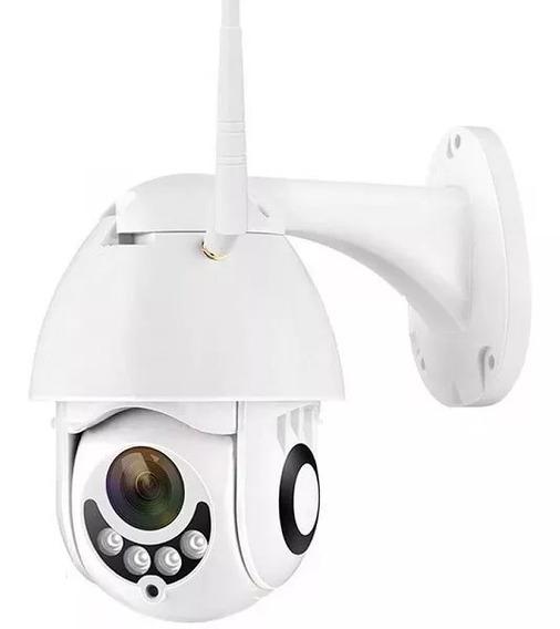 Câmera Ip Wifi Externa Ptz Dome Prova De Água Hd Icsee Otimo