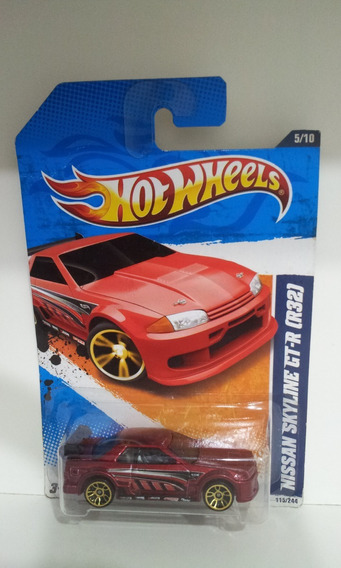 Hot Wheels Nissan Skyline Gt-r (r32) 2011 Raro