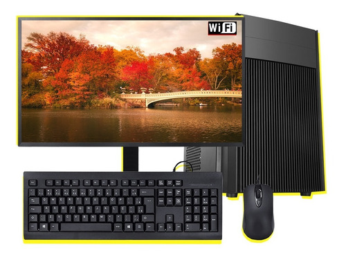 Pc Completo Intel Core I7 4ªg/4gb Ram/ssd 120gb/monitor 24