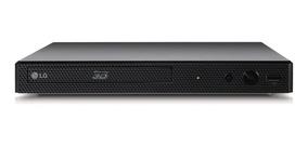 Dvd Blu Ray Player Lg Bp450 - 3d, Full Hd, Smart Tv, Entrada