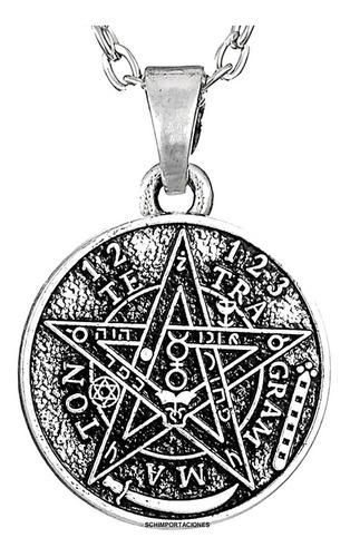 Nuevo Tetragramaton,  (tetragrammaton) + Cadena Acero