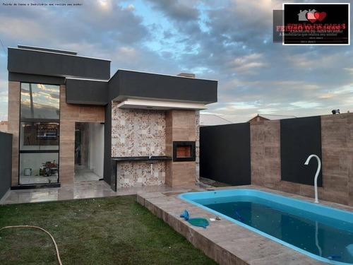 Casa Com 2 Dormitórios À Venda, 60 M² Por R$ 260.000,00 - Unamar - Cabo Frio/rj - Ca0337