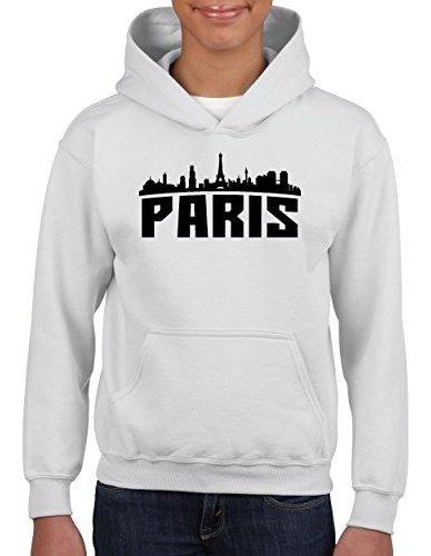 Paris France Souvenir Sudaderas Juveniles Sueter