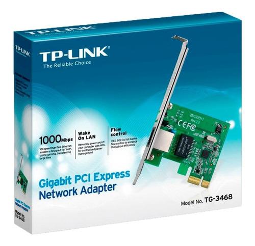Tarjeta Red Pci Tp-link  Tg-3468 - Envio/instalacion Gratis