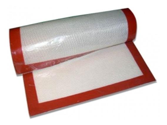 Plancha Tela Silicona Simil Silpat 30 X 40 Para Horno