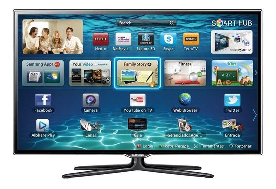 Tv Samsung 3d 40 Polegadas Led + 5 Óculos 3d
