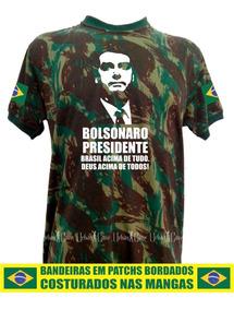 Bolsonaro Camisas Camufladas