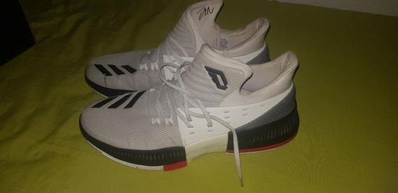 Zapatillas adidas Damian Lillard Rip City 3 Muy Poco Uso