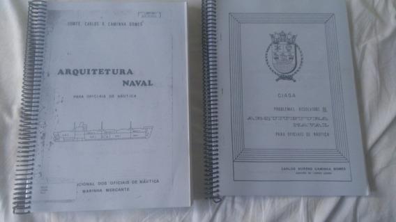 Livros Arquitetura Naval E Problemas Resolvidos