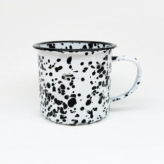 Jarro Mug Enlozado Vintage