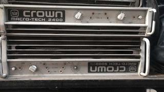 Potencia Crown Macrotech 2400 Usa