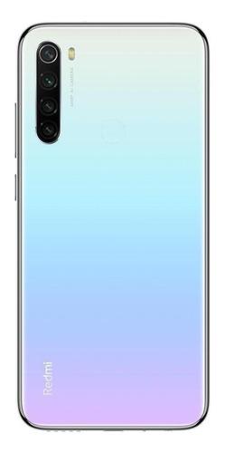 Imagen 1 de 2 de Xiaomi Redmi Note 8 2021 Dual SIM 128 GB luz lunar blanca 4 GB RAM