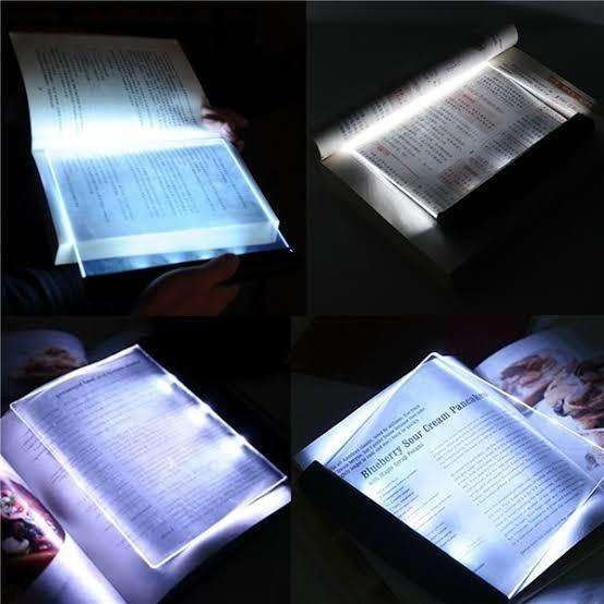 Luminária Livro + Baterias