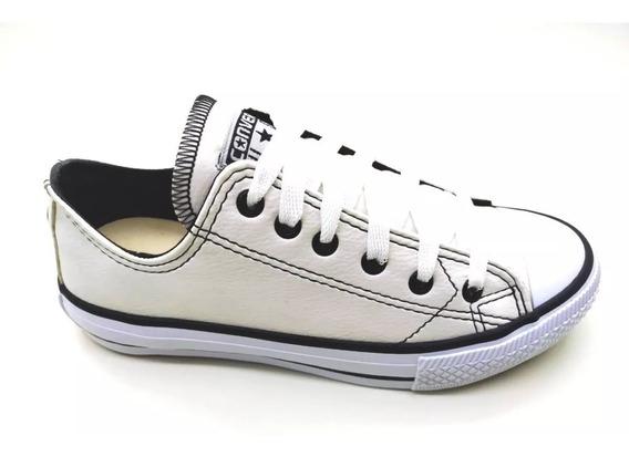 Tênis Calçados All Star Converse Couro - Envio Imediato