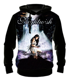 16d98a004b514a Blusa Moletom Nightwish Century Child - Casaco Frio