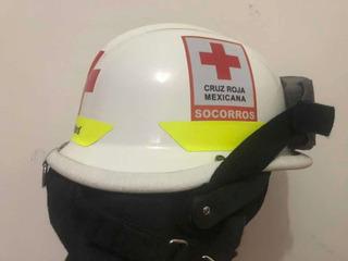 Casco De Rescate Cruz Roja Bullard Bomberos