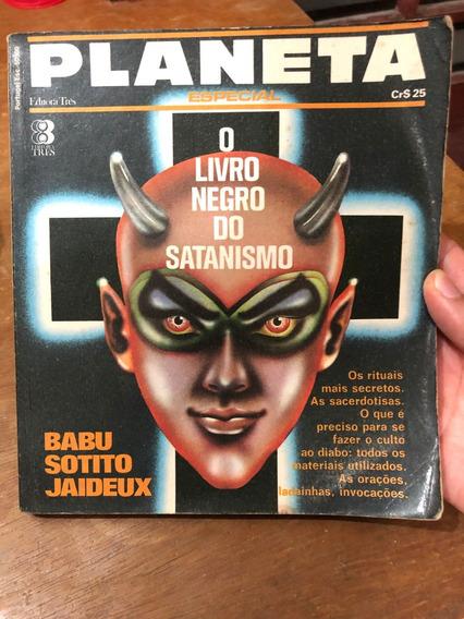 O Livro Negro Do Satanismo Planeta Especial Babu Soto Jaideu