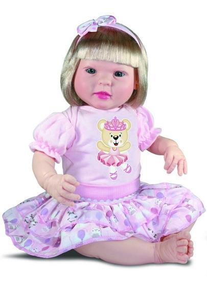 Boneca Bebe Reborn Menina Diandra Cegonha Reborn Dolls