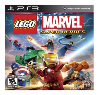 Lego Marvel Super Heroes Ps3 Goroplay Digital