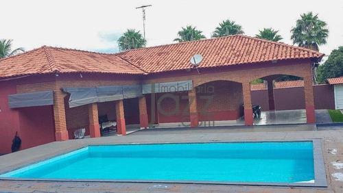 Chácara Com 3 Dormitórios À Venda, 2500 M² Por R$ 850.000,00 - Beira-rio - Jardinópolis/sp - Ch0436