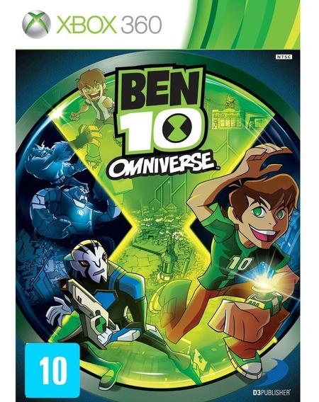 Jogo Ben 10 Omniverse Xbox 360 Mídia Física Original