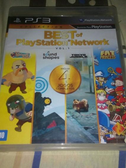 Best Of Playstation Network Vol 1 - Ps3 Mídia Física
