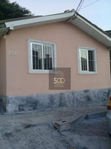 Casa De 02 Dormitórios Em São José - Ca0480