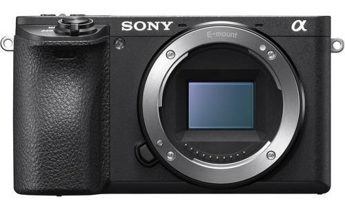 Câmera Sony Alpha A6500 Corpo Novo 1 Ano De Garantia + Nfe