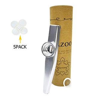 Tiempo De Oro Exquisita Aleacion De Aluminio Kazoo Con 5 Dia