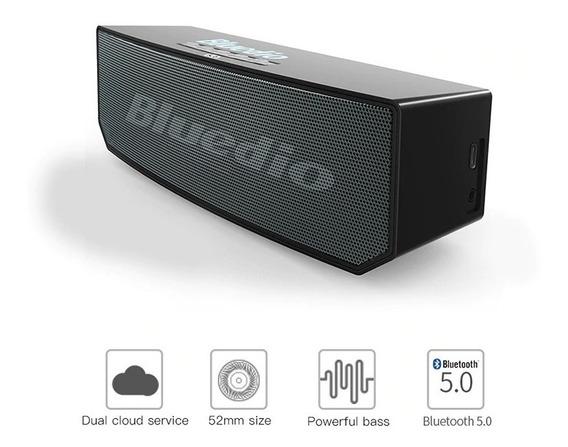 Caixinha De Som Portátil Bluedio Bs-6 Bluetooth