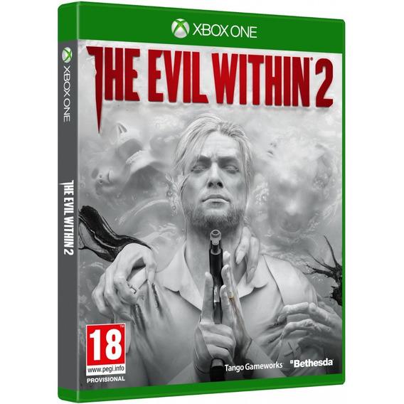 The Evil Within 2 Xbox One Disco Fisico Lacrado Português Br