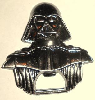 Destapador Darth Vader Star Wars Metálico Original Remate