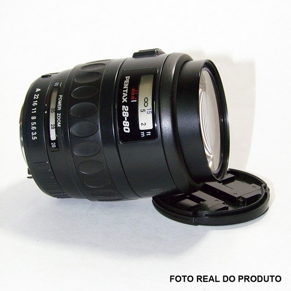 Lente Pentax 28-80mm F/3.5-4.7 Smc Fa Power Zoom Auto Foco