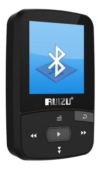Mp3 Player Ruizu X50 8gb Bluetooth Esporte Rádio Fm Original