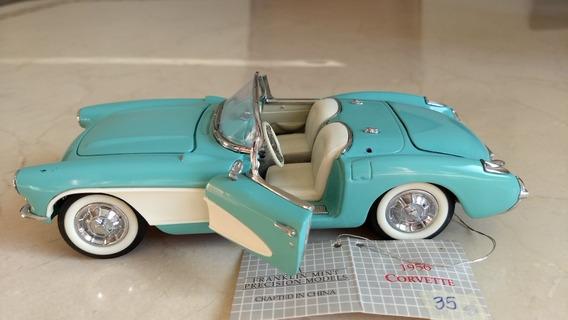 Miniatura Corvette 56 Franklin Mint 1/24