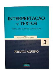 Livro Interpretação De Textos Teoria E Questões Comentadas