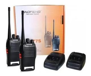 Radio Comunicador 777s 16 Canais Profissional Ht Uhf 2 Peças