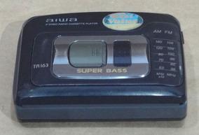 Rádio Stereo Cassette Player Aiwa Am/fm