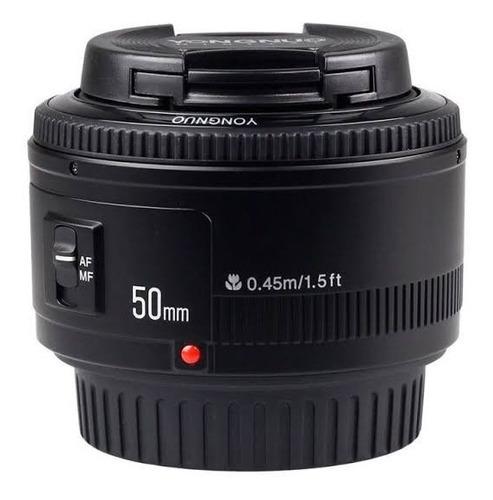Lente Yougnuo Yn 50mm F/ 1.8 C Para Câmeras Canon