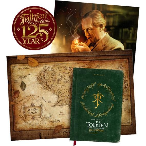 Livro Tolkien O Senhor Da Fantasia Edição Limitada 125 Anos