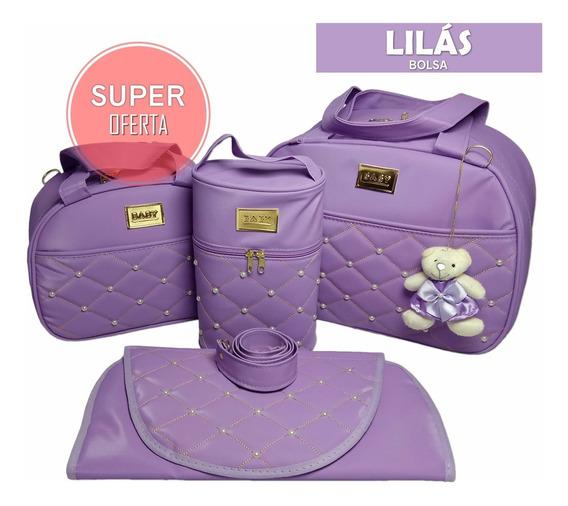 Kit Bolsas Para Bebe Barata Saída Maternidade + Trocador