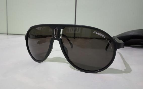 Óculos De Sol Carrera Champion C Dl5 Jj Preto Fosco/ Preto