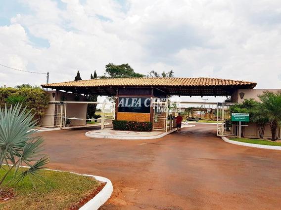 Terreno À Venda, 2380 M² Por R$ 310.000 - Villaggio Baiocchi - Goianira/go - Te0134