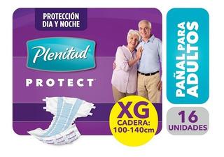 Pañales Adultos Plenitud Protect Talle Xg X 16 Unidades