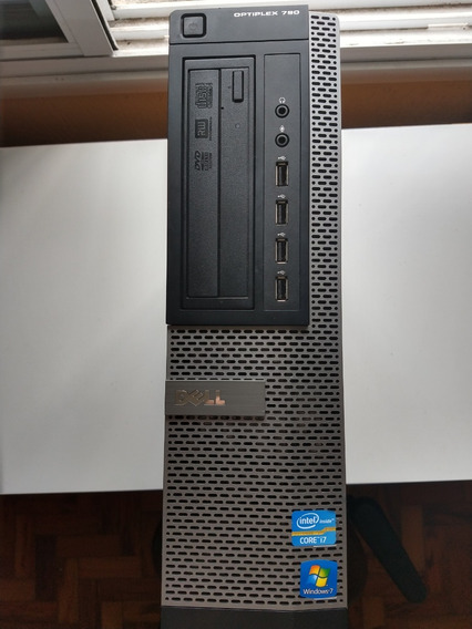 Dell Optiplex 790 Core I7-2600 8gb Ram 256 Ssd