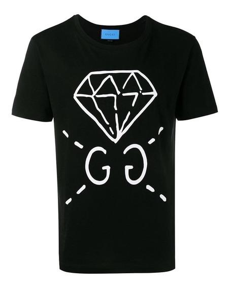 Remera Gucci 2019 Importada Diamante