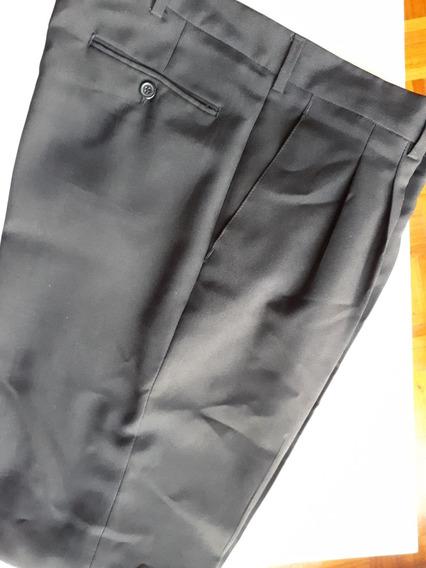 Pantalon De Vestir Negro 46